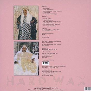 Cover art - Alhaji Chief Kollington Ayinla & His Fuji '78 Organization: Blessing
