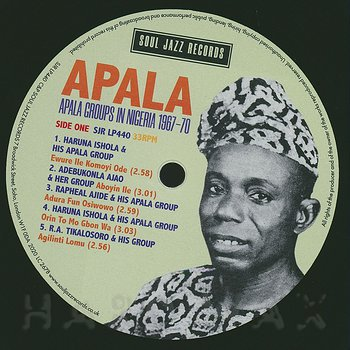 Cover art - Various Artists: Apala Groups In Nigeria 1967-70