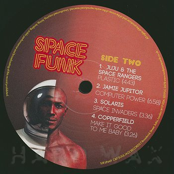 Cover art - Various Artists: Space Funk