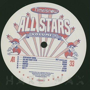 Cover art - Various Artists: Time Is Now Allstars, Vol.1