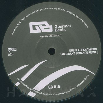 Cover art - AxH: Dubplate Champion