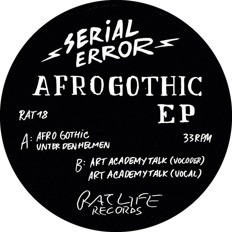 Cover art - Serial Error: Afro Gothic EP