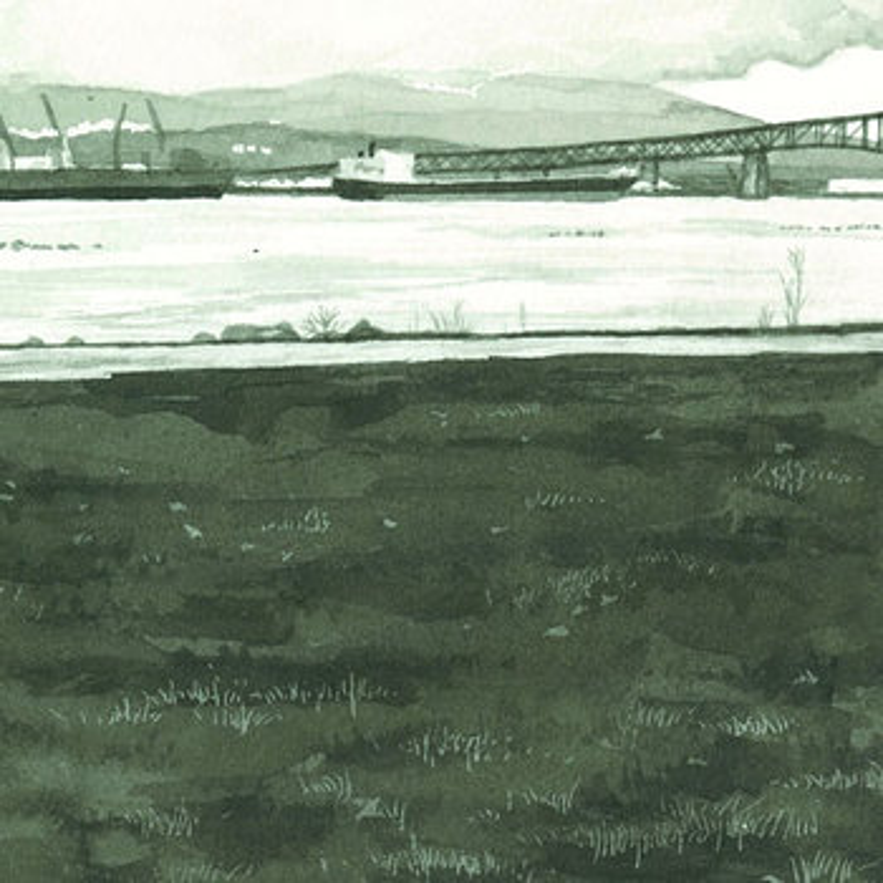 Cover art - Loscil: Sketches from New Brighton