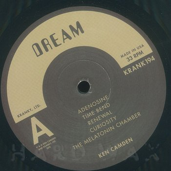 Cover art - Ken Camden: Dream Memory