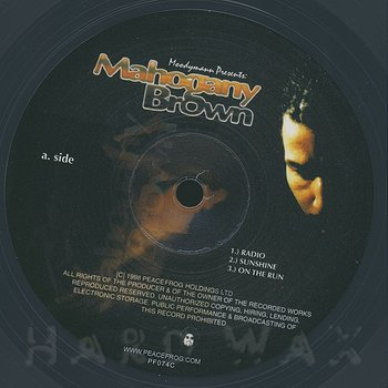 Cover art - Moodymann: Mahogany Brown