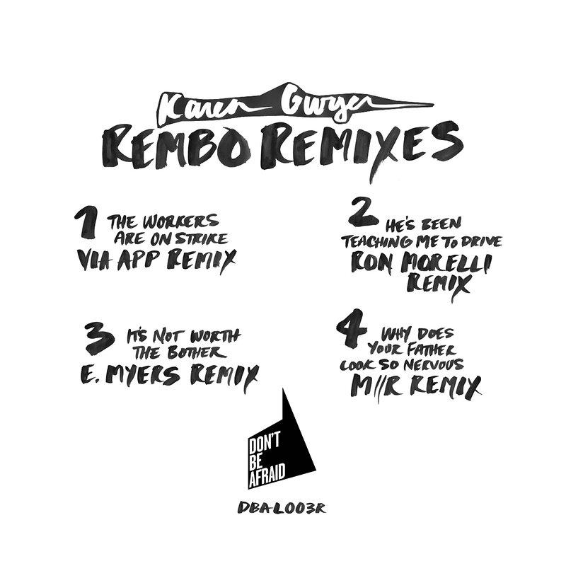 Cover art - Karen Gwyer: Rembo - The Remixes