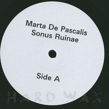 Cover art - Marta De Pascalis: Sonus Ruinae