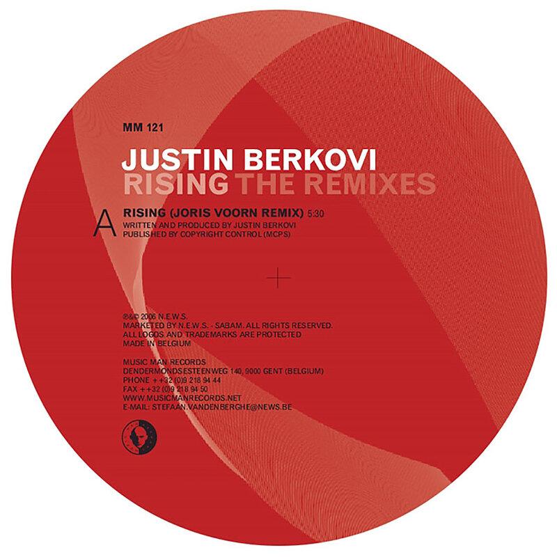 Cover art - Justin Berkovi: Rising (The Remixes)