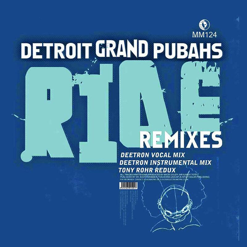 Cover art - Detroit Grand Pubahs: Ride Remixes