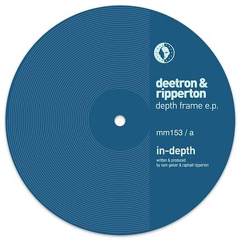 Cover art - Deetron and Ripperton: Depth Frame EP