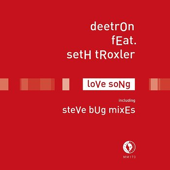 Cover art - Deetron featuring Seth Troxler: Love Song