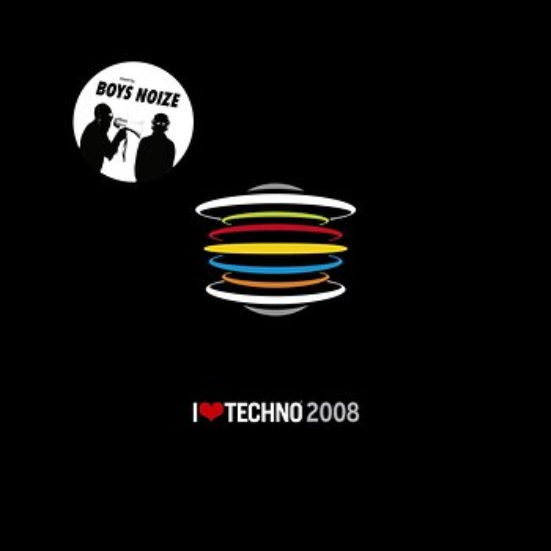Cover art - Boys Noize: I Love Techno 2008