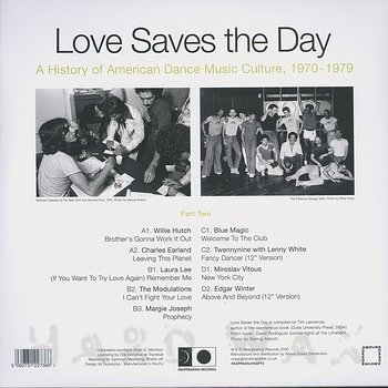 Cover art - Various Artists: Love Saves the Day : A History Of American Dance Music Culture 1970-1979 Part 2
