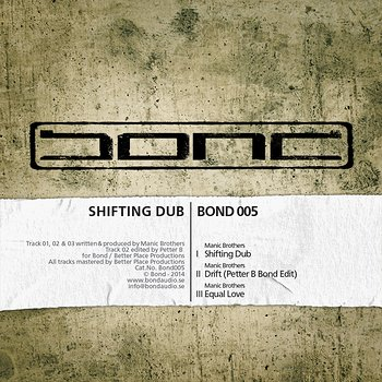 Cover art - Manic Brothers: Shifting Dub