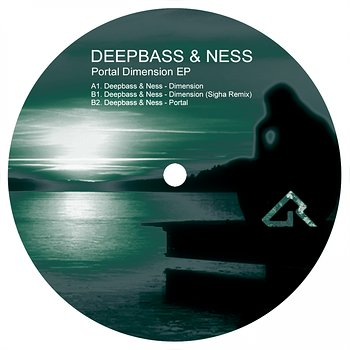 Cover art - Deepbass & Ness: Portal Dimension EP