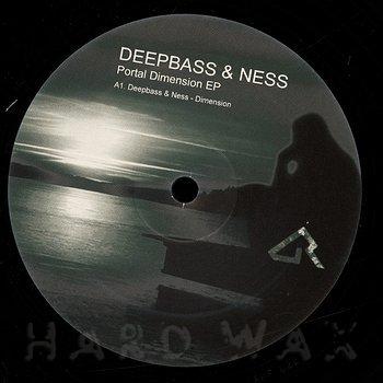Cover art - Deepbass & Ness: Portal Dimension EP