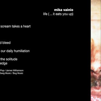 Cover art - Mika Vainio: Life (...It Eats You Up)