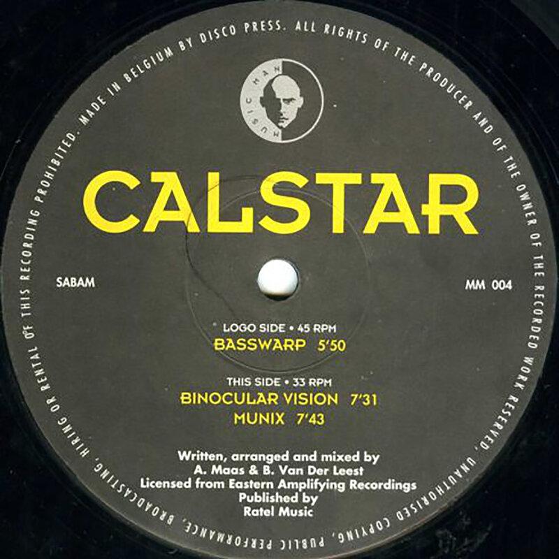 Cover art - Calstar: Basswarp
