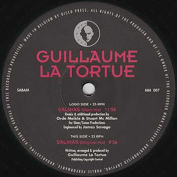 Cover art - Guillaume La Tortue: Salinas