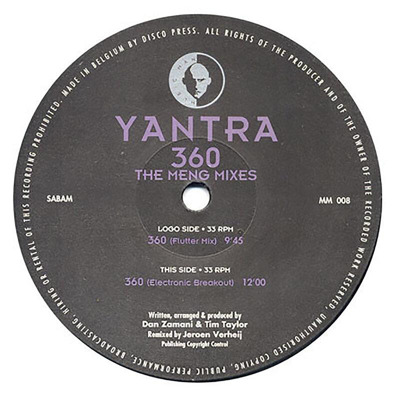 Cover art - Yantra: 360 (The Meng Mixes)
