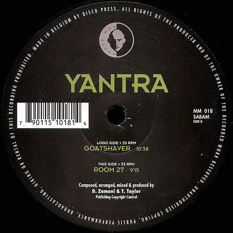Cover art - Yantra: Goatshaver