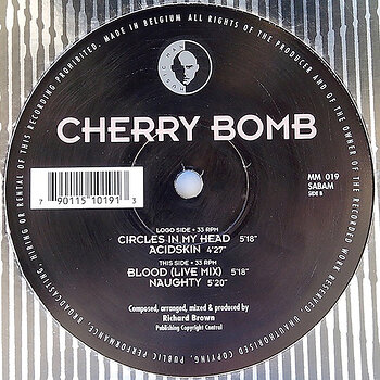 Cover art - Cherry Bomb: Circles In My Head