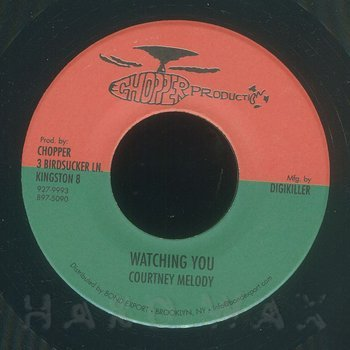 Cover art - Courtney Melody: Watching You