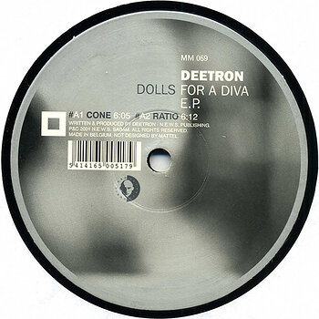 Cover art - Deetron: Dolls For A Diva E.P.