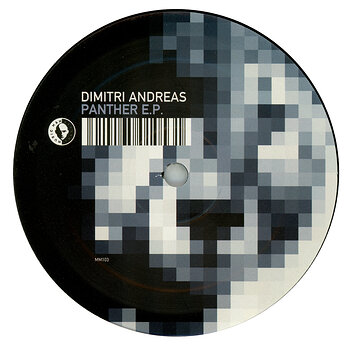 Cover art - Dimitri Andreas: Panther E.P.