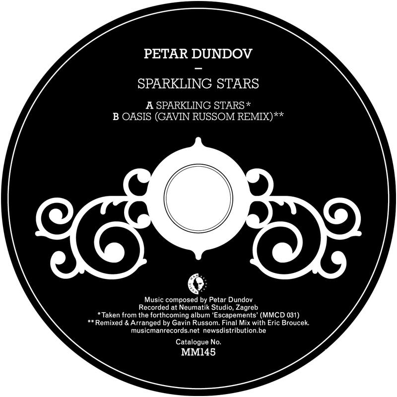 Cover art - Petar Dundov: Sparkling Stars