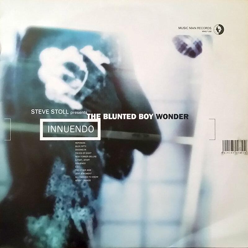 Cover art - Steve Stoll presents The Blunted Boy Wonder: Innuendo