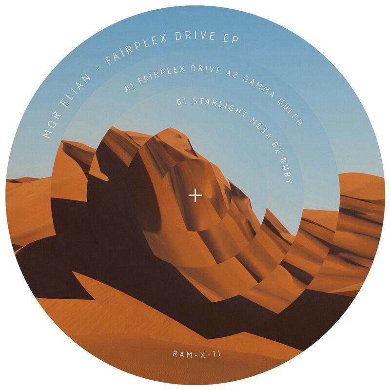 Cover art - Mor Elian: Fairplex Drive EP
