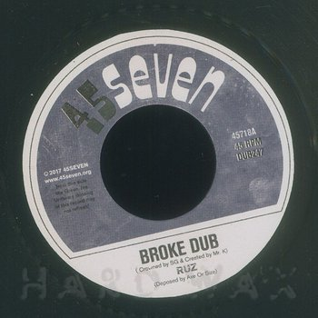 Cover art - Ruz: Broke Dub