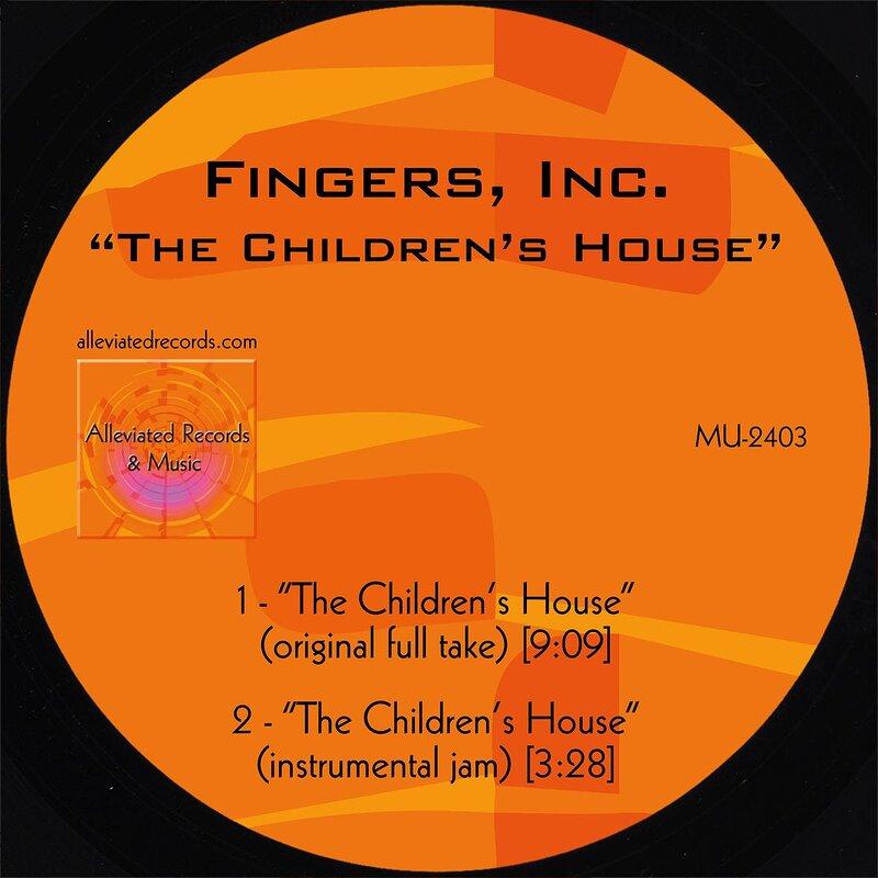 Cover art - Fingers Inc.: The Children's House