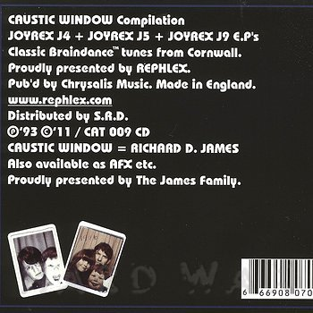 Cover art - Caustic Window: Compilation