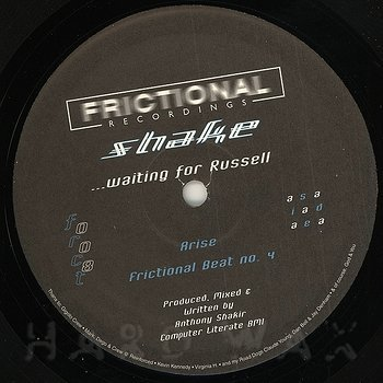 Cover art - Shake: Waiting For Russell