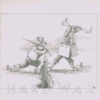 Cover art - Derek Bailey & Han Bennink: s/t