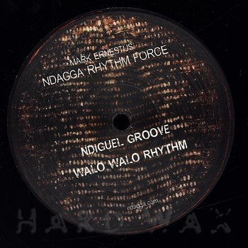 Cover art - Mark Ernestus' Ndagga Rhythm Force: Walo Walo