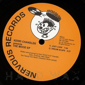 Cover art - Kerri Chandler: Mood EP