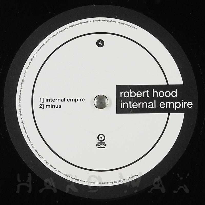 Cover art - Robert Hood: Internal Empire