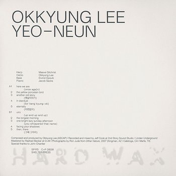 Cover art - Okkyung Lee: Yeo-Neun