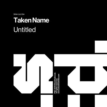 Cover art - Taken Name: Untitled