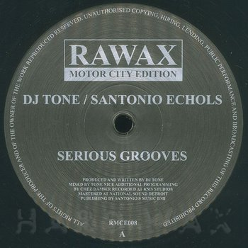 Cover art - DJ Tone: Serious Grooves