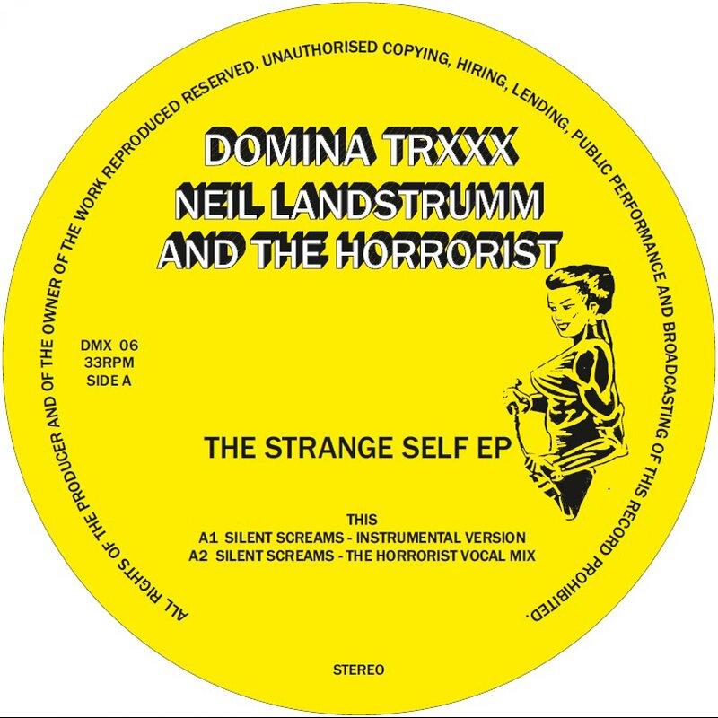 Cover art - Neil Landstrumm and The Horrorist: The Strange Self EP