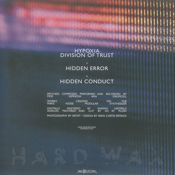 Cover art - Hypoxia: Division Of Trust
