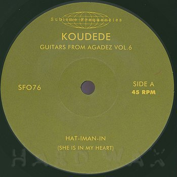 Cover art - Koudédé: Guitars from Agadez Vol.5