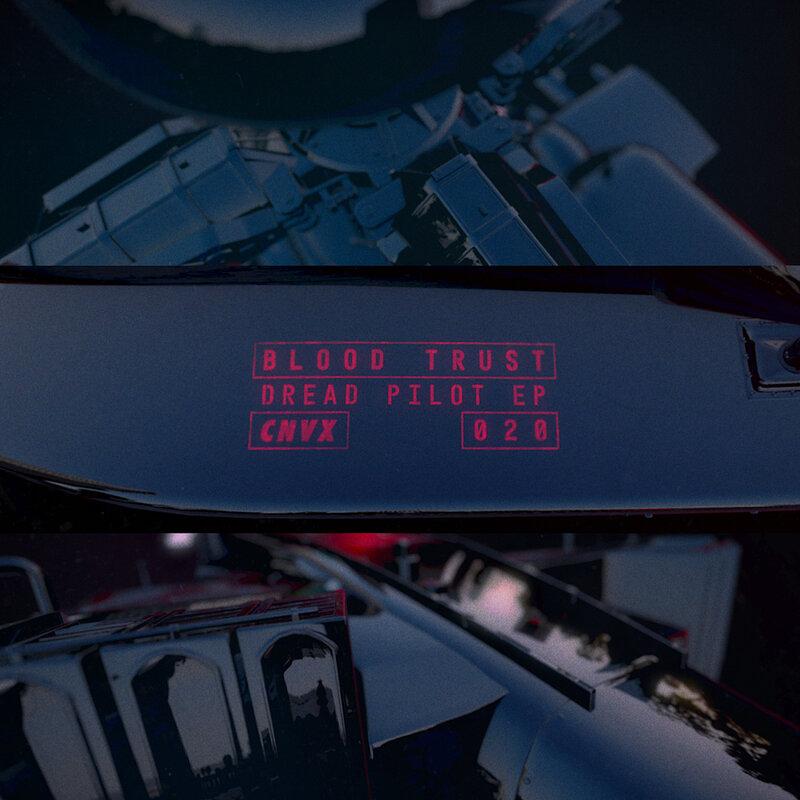 Cover art - Blood Trust: Dread Pilot EP
