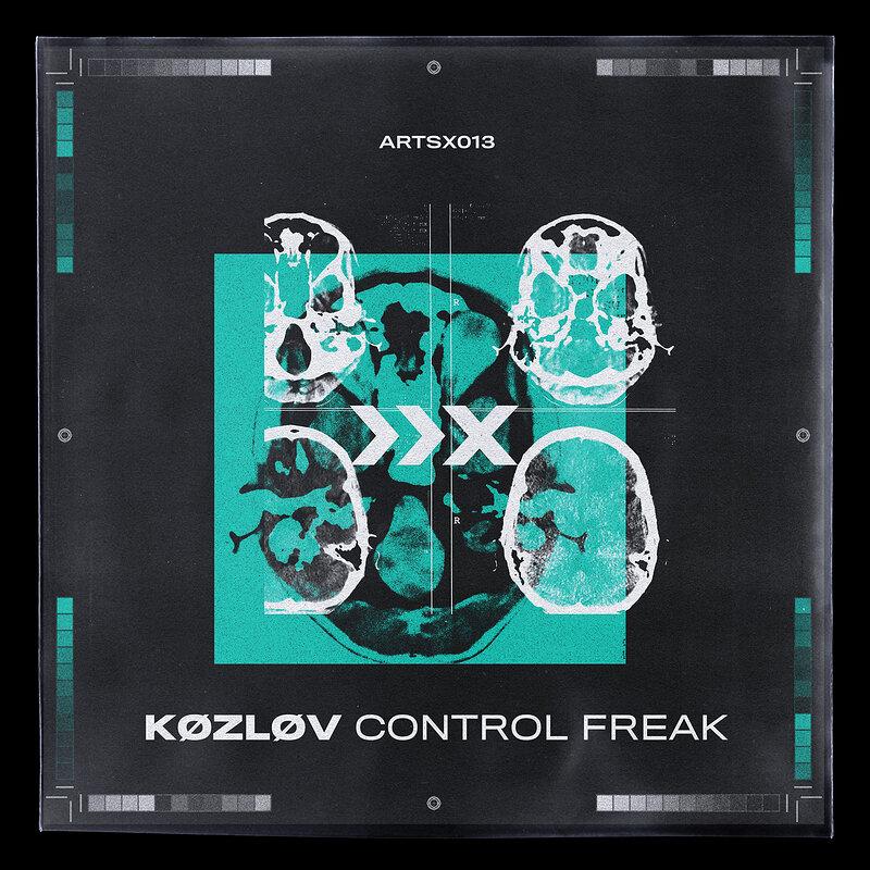 Cover art - Kozlov: Control Freak EP