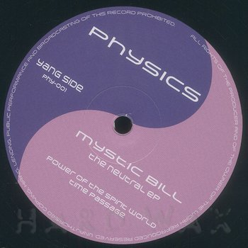 Cover art - Mystic Bill: The Neutral EP