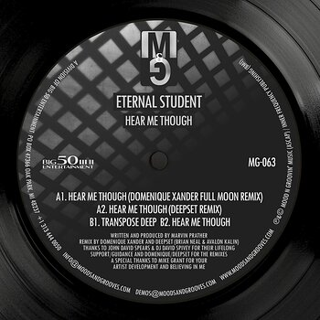 Cover art - Eternal Student: Hear Me Though